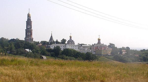 Иоанно-Богословский монастырь, общий вид