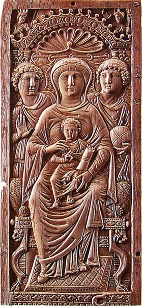 Богоматерь с Младенцем и ангелами