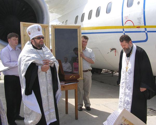Молебен перед иконой святителя Иоасафа Белгородского