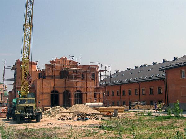 Строительство Покровского храма