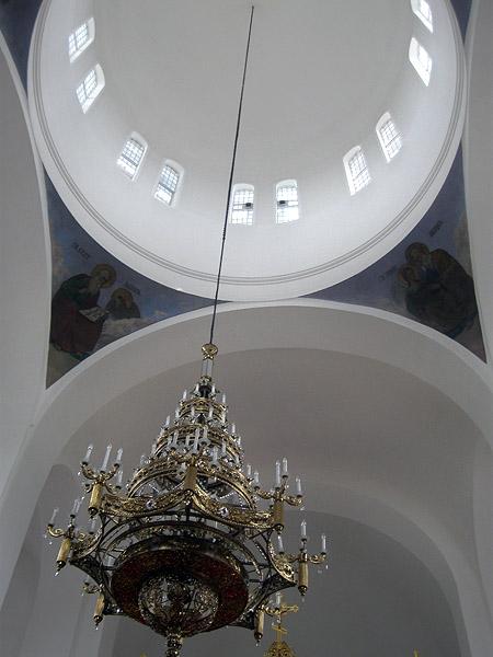 Надвратная церковь. Купол