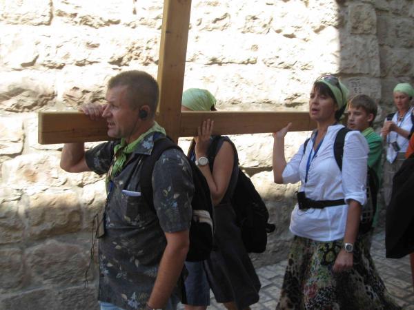 Иерусалим. Via Dolorosa.