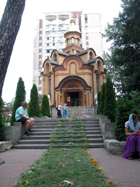 Наш Храм. Подготовка к встрече Крестного хода