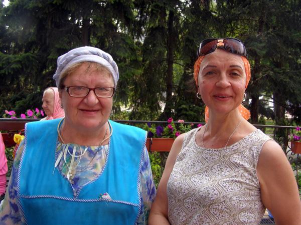 Наши бессменные Марфы - Наталья Всеволодовна Негара и Евфросиния Криворучко