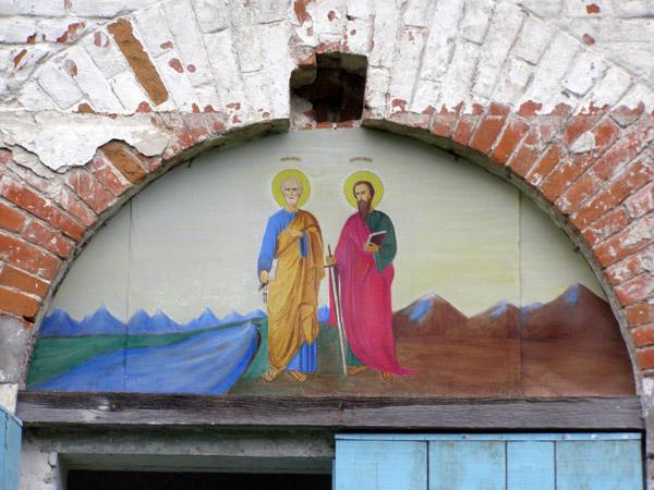 Икона написана настоятелем храма