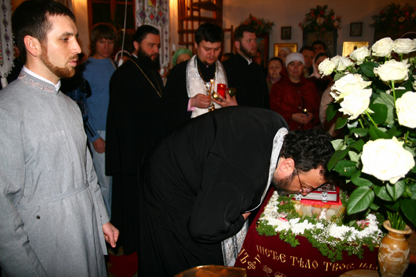 Поклонение святой Плащанице!