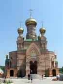 Центральный храм монастыря в честь иконы Божией Матери Живоносный Источник