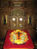 Происхождение (изнесение) Честных Древ Животворящего Креста Господня. Всеношное бдение