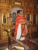 Праздничная литургия. Проповедь настоятеля