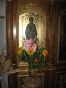 Преображение Господне. Цветы в Храме