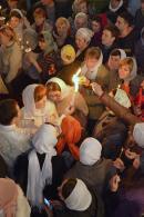 Благодатный огонь в нашем Храме!