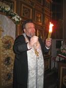 Благодатный огонь в нашем Храме