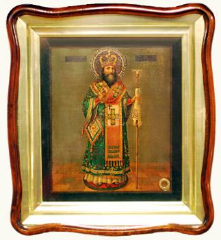 Икона и житие святителя Феодосия Черниговского