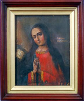 Икона св. равноапостольной Марии Магдалины