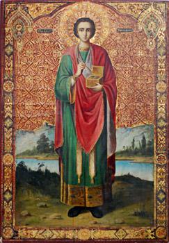 фото иконы целителя пантелеймона