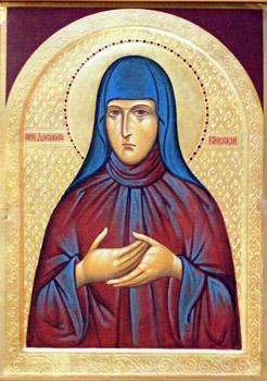 Икона и житие преподобного Досифея Киевского