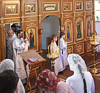Виды литургии и дни их совершения